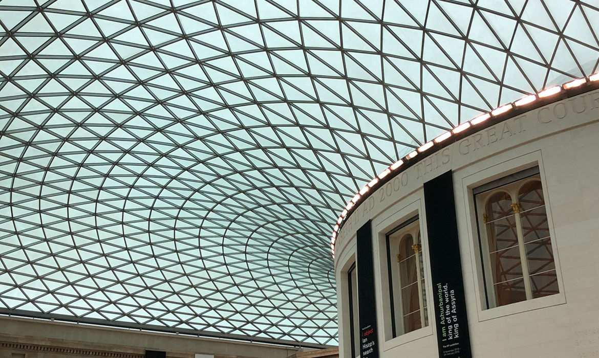 British Museum atrium event space