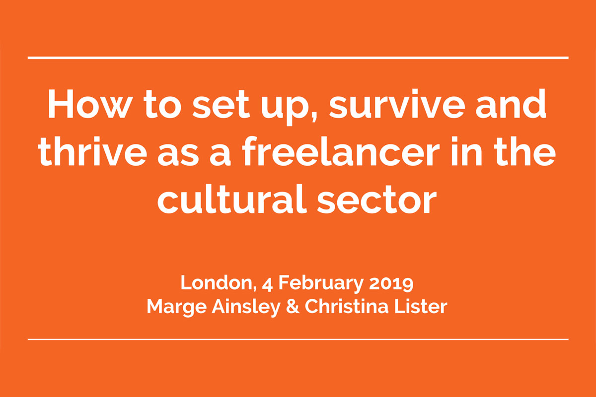 museum freelance course february 2019 title slide